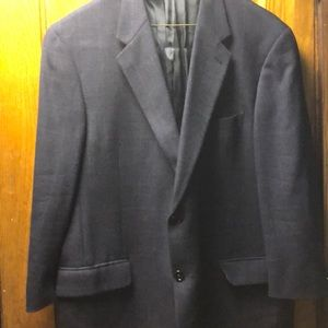 Joseph Abboud Men's Navy Blue Sports Coat
